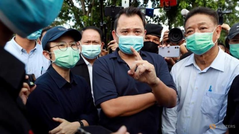 Thai court grants bail to 3 convicted ministers ousted from Cabinet