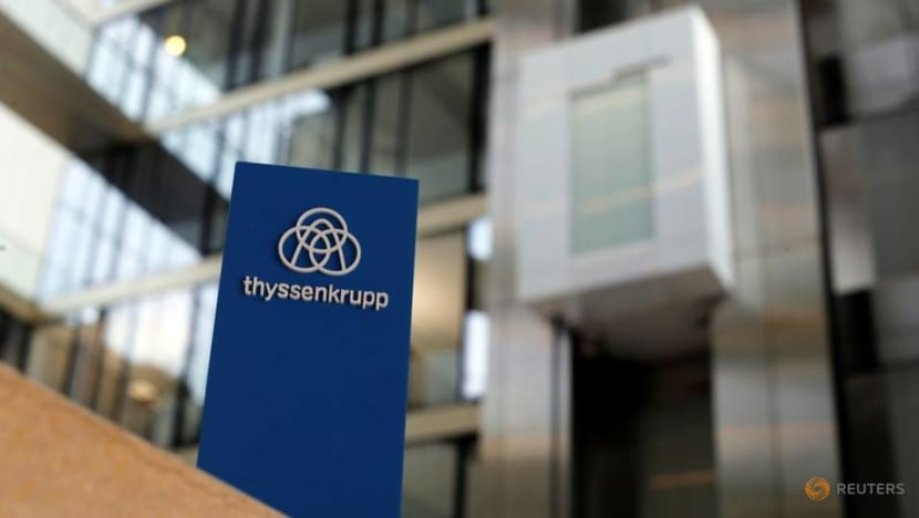 Thyssenkrupp raises full-year forecast on automotive recovery