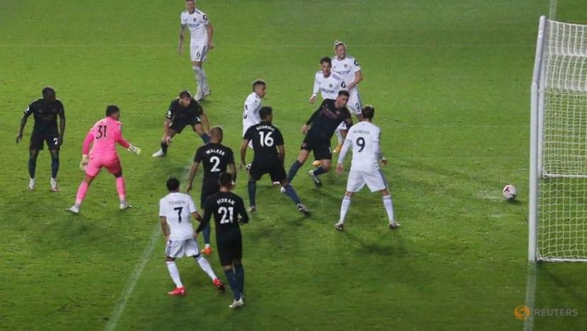 Rodrigo earns battling Leeds 1-1 draw against Man City