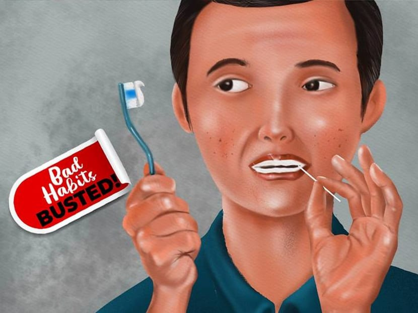 Is it okay to skip the toothbrush once in a while and use toothpicks instead?