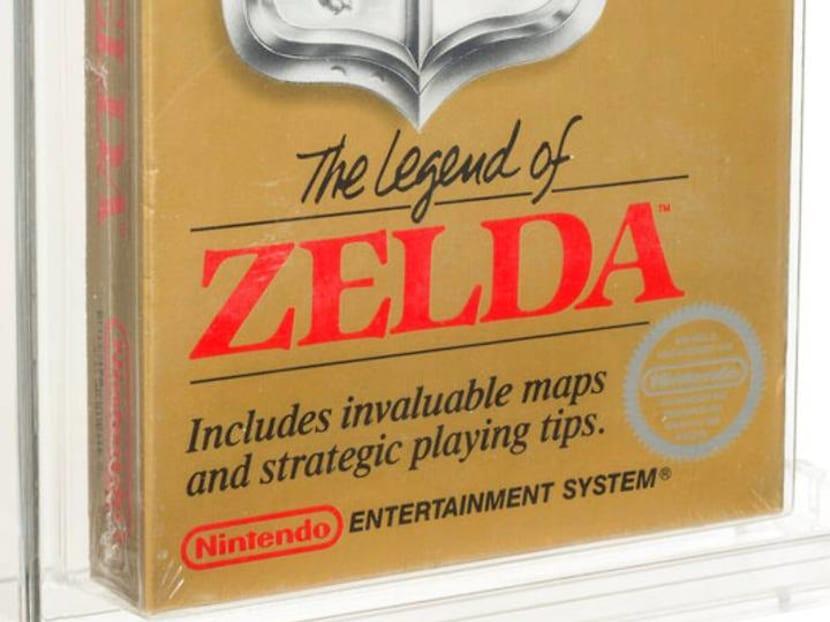 Unopened The Legend of Zelda Nintendo game from 1987 sells for US$870,000