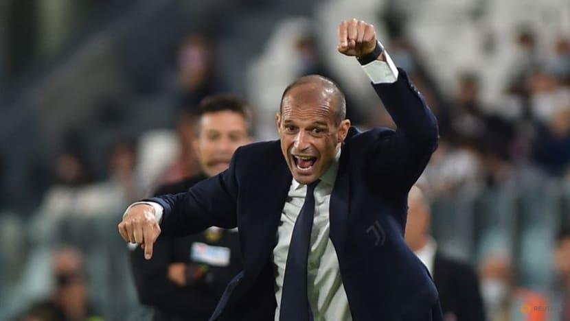 Football: Juve's Allegri relieved to hear final whistle in Milan draw
