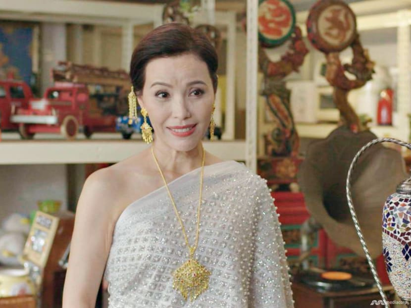 Zoe Tay gets tongue-tied playing a Thai lady of leisure in a new drama