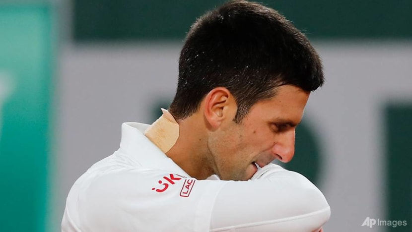 Tennis: Djokovic upset by 42nd-ranked Sonego in Vienna quarters