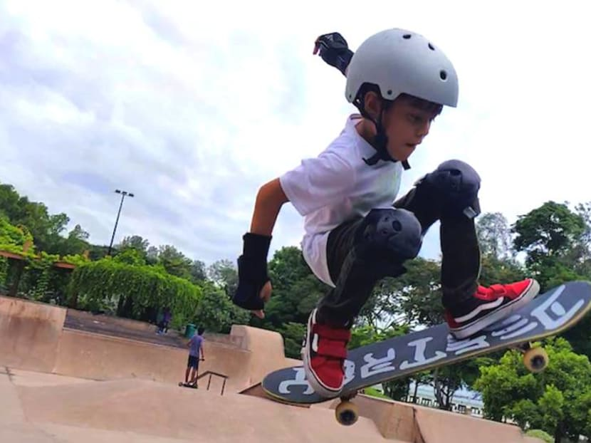 Skater kids as young as five 'do tricks and go down ramps'