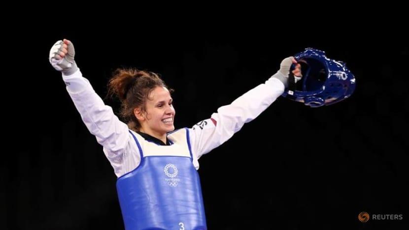 Olympics-Taekwondo-Croatia's Jelic wins women's - 67kg gold medal