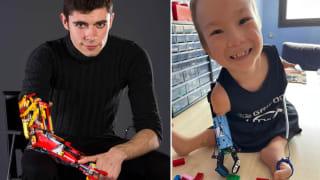 【暖心驿站】残臂少年打造乐高义肢 为八岁男孩圆梦