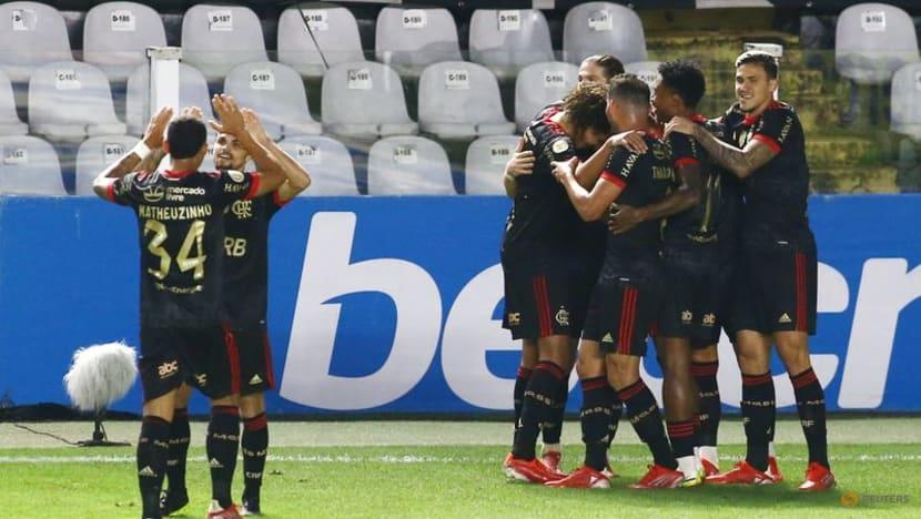 Flamengo trounce Santos with second-half scoring spree