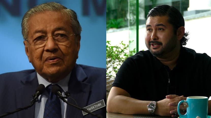 Johor crown prince free to criticise the government, but 'he is not above the law': Mahathir