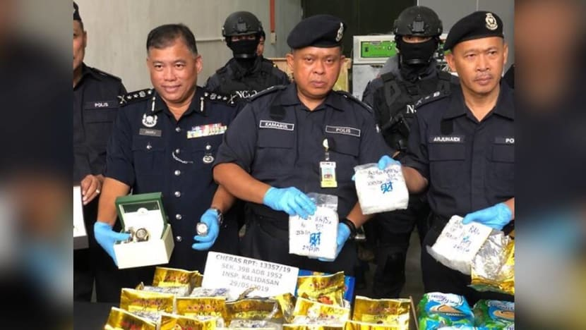 Malaysia police bust syndicate, seize RM16.5 million worth of drugs