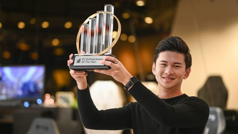 Secretlab CEO named Singapore's EY Entrepreneur of the Year