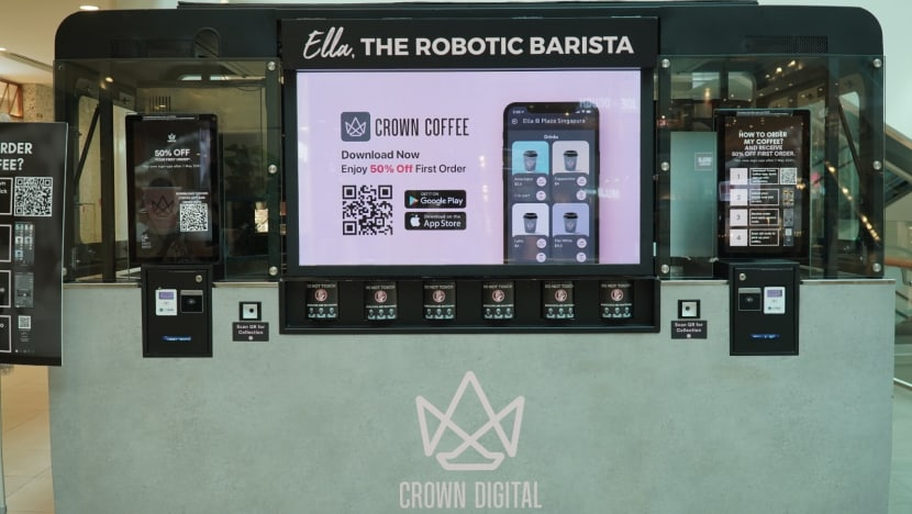 Robot baristas to serve gourmet coffee to commuters at 30 MRT stations across Singapore