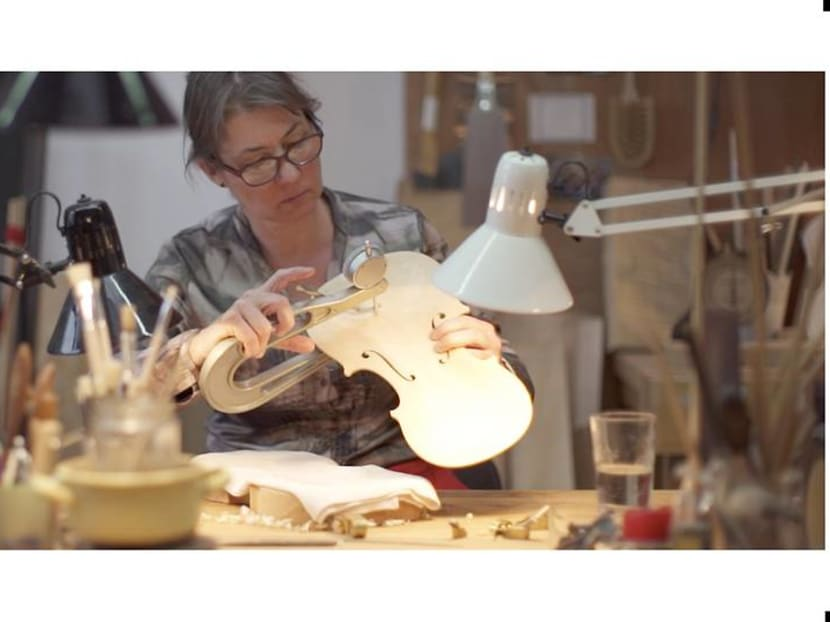 She makes just five violins a year – and finds unending joy in a centuries-old craft