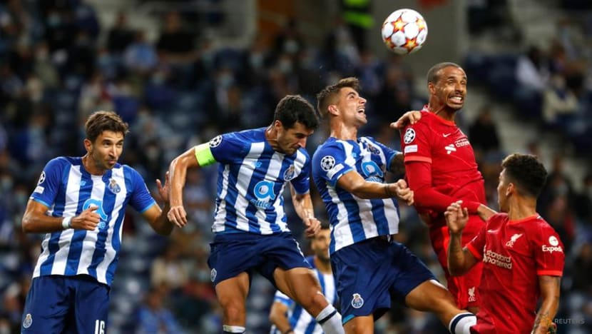 Football: Salah strikes twice as Liverpool thrash injury-hit Porto