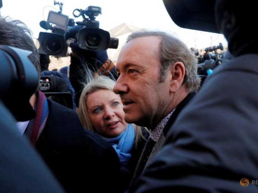Kevin Spacey, actor accused of sexual misconduct, posts video for 'suffering' people