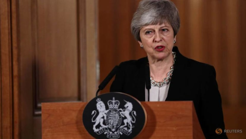 British PM asks EU to delay Brexit; Tusk proposes flexible 12-month period