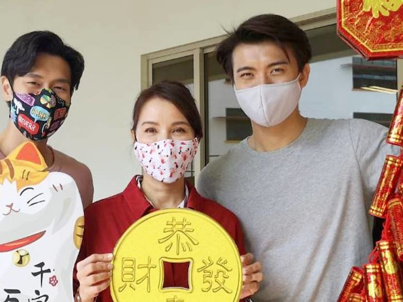 Zhang Ze Tong gets emotional while bringing cheer to senior care centre