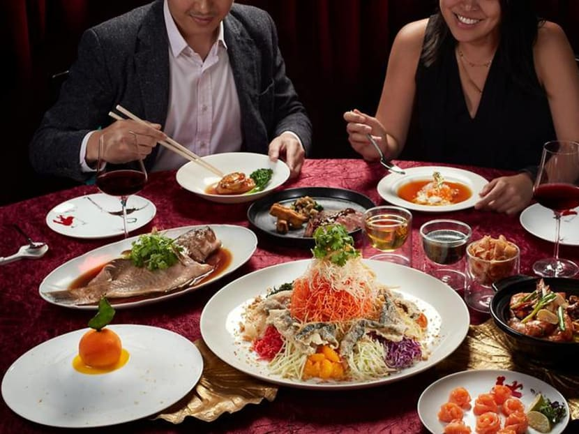 You and three friends are invited to an early 'reunion dinner' at Madame Fan