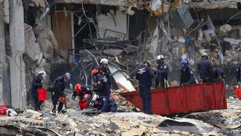 Miami condo collapse: Death toll rises to 5 as rescuers race to find survivors