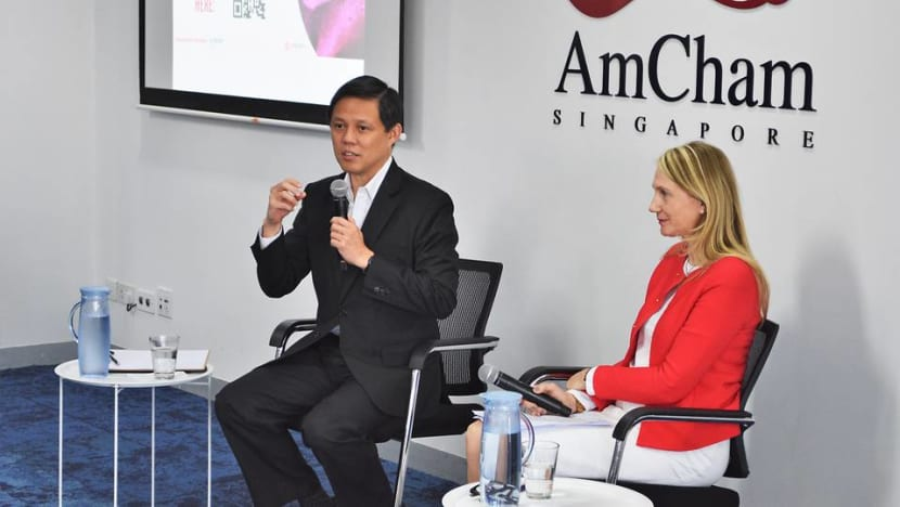 Big businesses need to help smaller players, work together to tide through COVID-19 'crisis': Chan Chun Sing