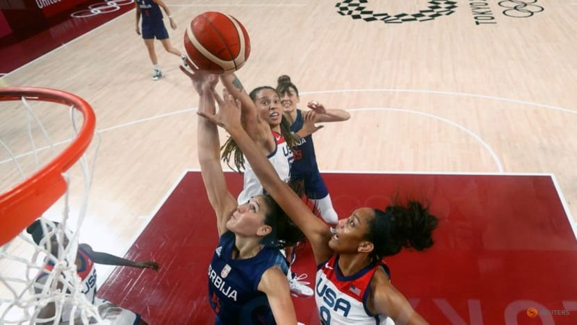 Olympics-Basketball-US women to go for seventh straight gold v hosts Japan