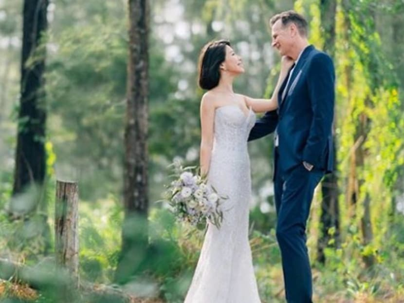 'I finally found love': Singapore TV host and actress Belinda Lee gets married