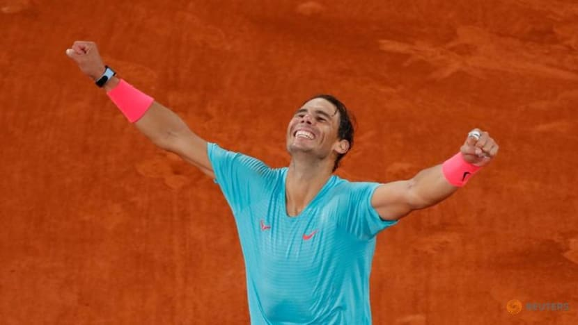 Tennis: King Nadal continues Paris reign with record-equalling 20th Slam