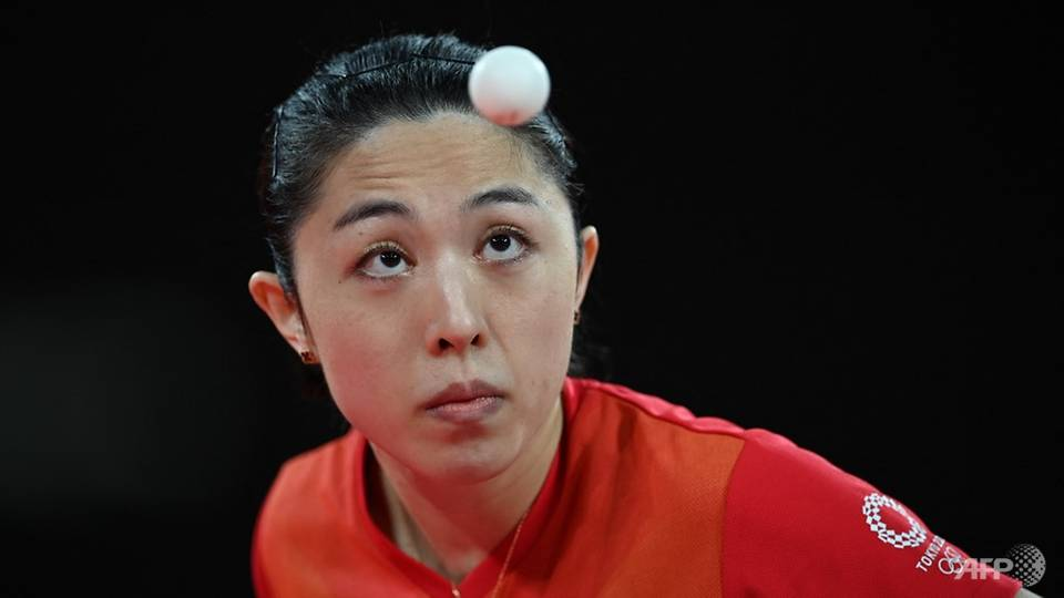 Table tennis: Singapore's Yu Mengyu beaten by China's world number 1 Chen Meng, will compete for Olympics bronze