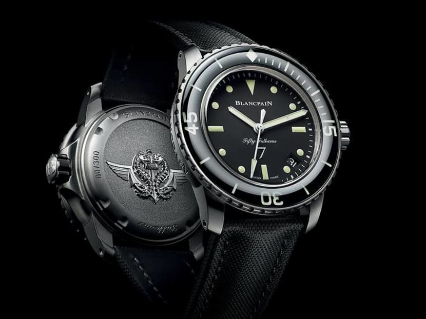 A watch not just for diving enthusiasts, but also for military history buffs