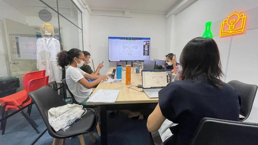 Tuition centres prepared to move back online, 'not surprised' at announcement amid spike in COVID-19 cases