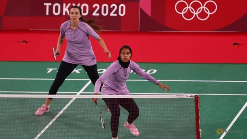 Badminton-Egypt's two female competitors excel at versatility