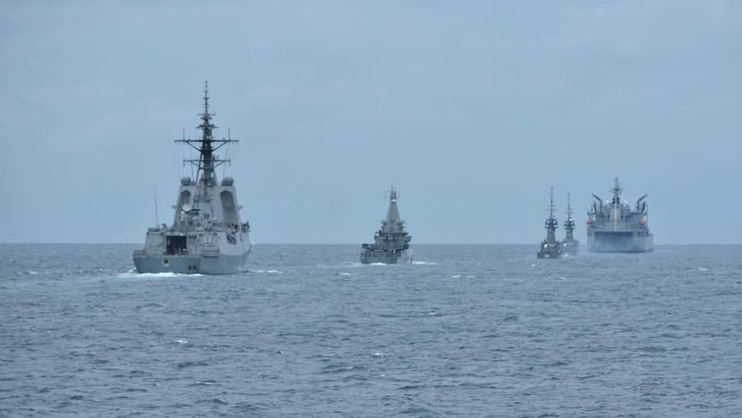 Singapore and Australia conduct bilateral navy exercise, no physical interactions due to COVID-19
