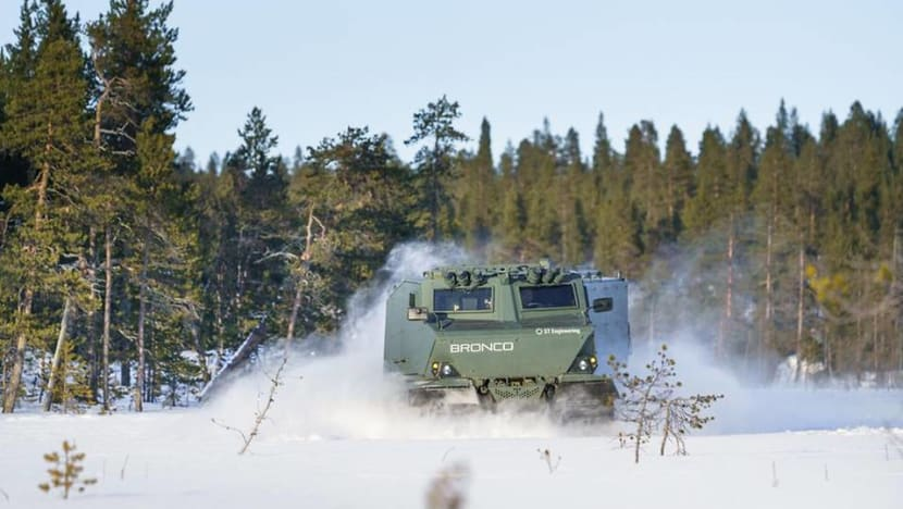 US Army selects ST Engineering's Bronco armoured troop carrier for tests in arctic conditions