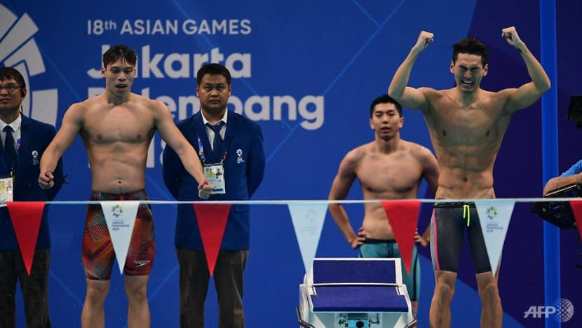 Asian Games: China swimmers win medley relay gold with new Games record