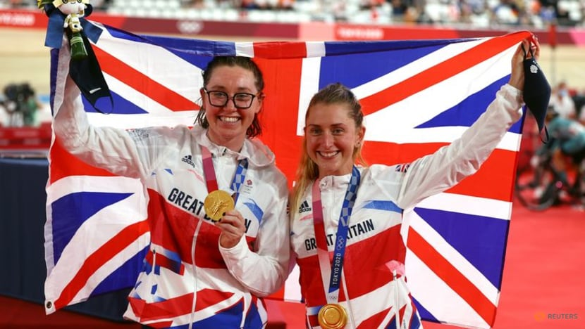 Olympics-Cycling-Golden girl Kenny savours historic madison triumph