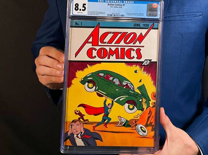 Man, a steal! Rare Superman comic sells for record US$3.25m
