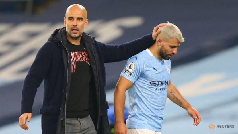 Football: Man City's Aguero must show he deserves new contract, says Guardiola