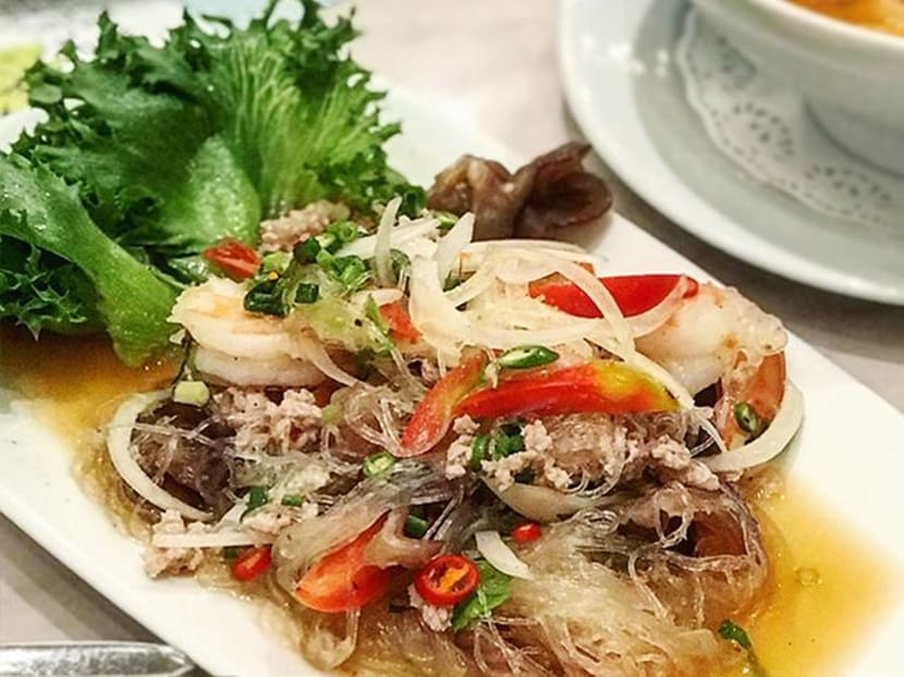 Best Thing We Ate This Week (Bangkok edition): Glass Noodle Salad at Coffee Beans by Dao