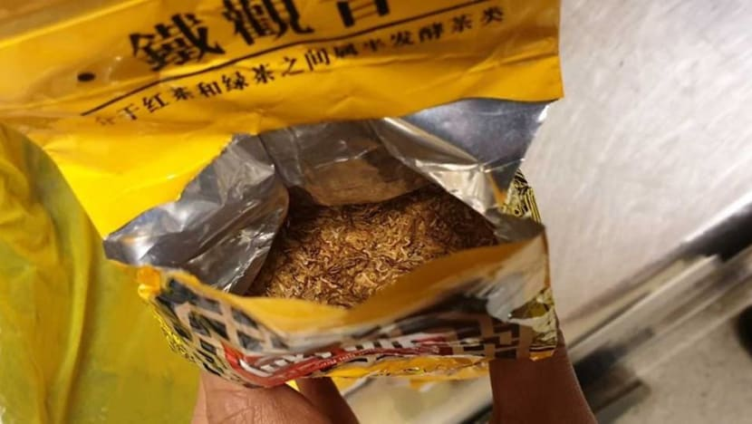 Man caught at Changi Airport with duty-unpaid tobacco disguised as tea leaves