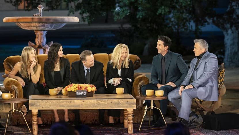 They're back! Catch Friends: The Reunion on the same day as the US