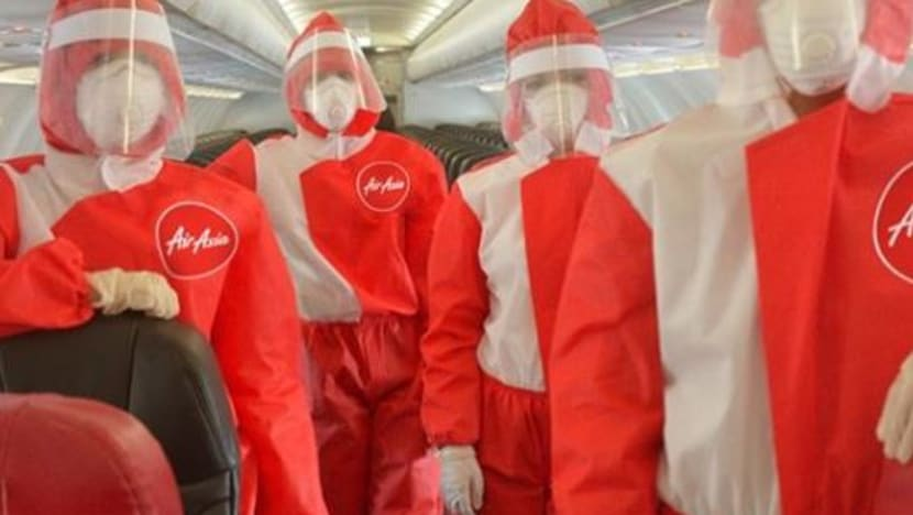 COVID-19: AirAsia trials PPE suits for cabin crew