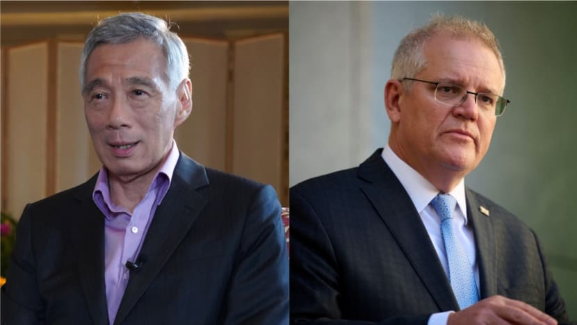 PM Lee speaks with PM Scott Morrison about Australia's new trilateral partnership with US, UK