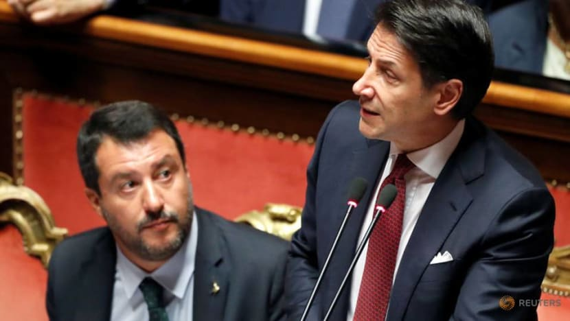 Italy in limbo after PM Conte attacks Salvini and resigns