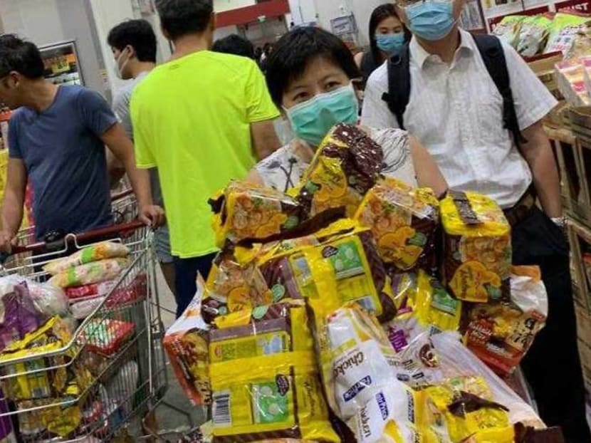 Commentary: Singaporeans queued for toilet paper and instant noodles – there is no shame in that