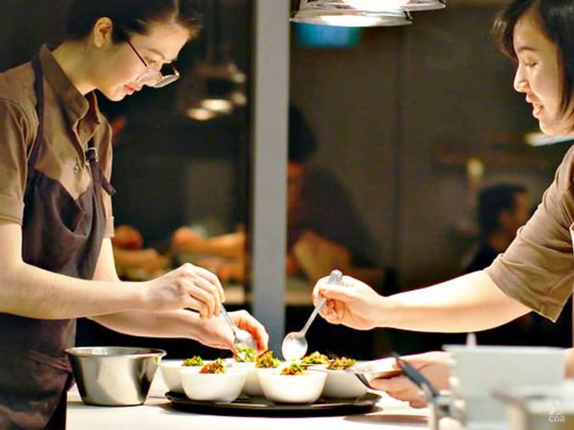 The young female duo bent on educating Singapore diners about food waste