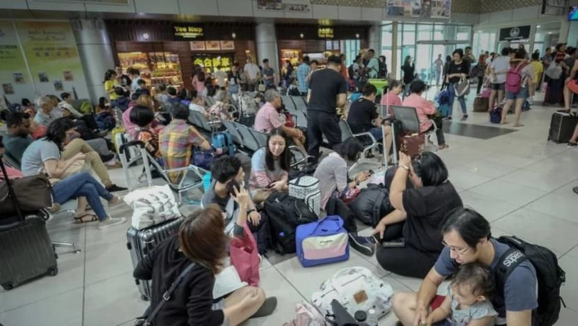 549 passengers stranded at Ipoh airport after flights delayed due to haze