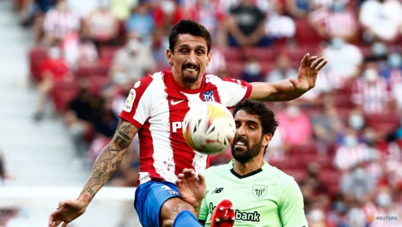 Football: Felix sees red as Atletico Madrid held by Athletic Bilbao