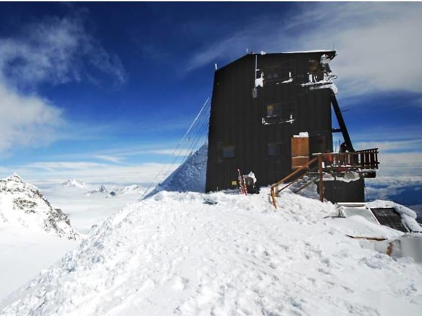 A hotel perched 4,500m on a mountain, but there's wifi and proper espresso