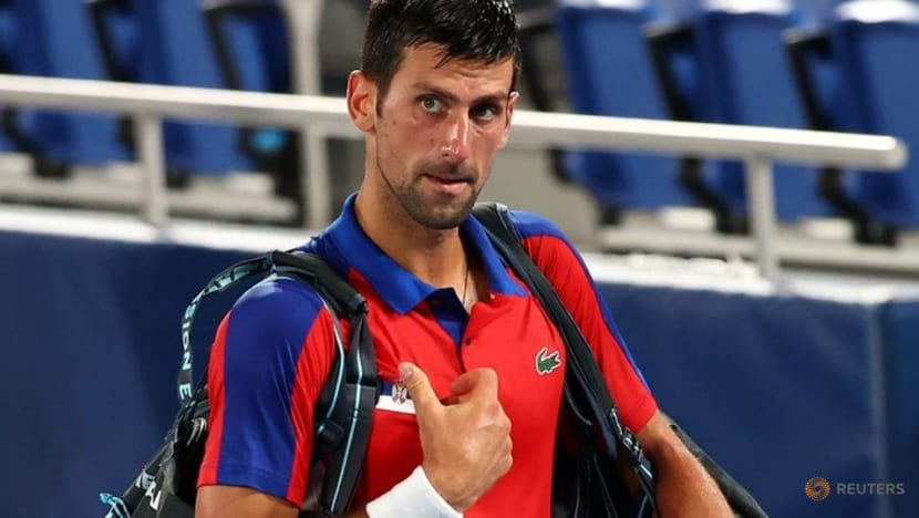 Olympics-Tennis-Djokovic's Golden Slam dreams dashed by Zverev