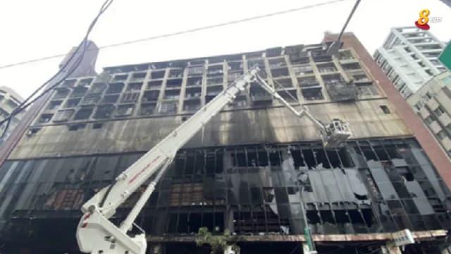 晨光 纸上风云:高雄城中城大火 引发旧楼安全反思